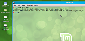 gnome terminal in linux mint