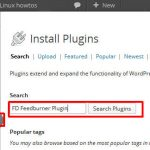 Adding a new plugin in wordpress dashboard