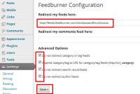 Recommended setting for FD feedburner plugin in WordPress