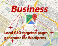 Image of Local GEO targeted pages generator for WordPress