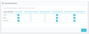 theteller group settings in payment preferences PaySwitch / TheTeller payment module for Prestashop 1.7x Prestashop 1.7x version of PaySwitch Ghana (formerly known as TheTeller Ghana) payment gateway integration.Easy, quick install, simple configuration, ready for deployment. If you have any kind of Prestashop-based e-commerce store based in Ghana, then this module is a must.